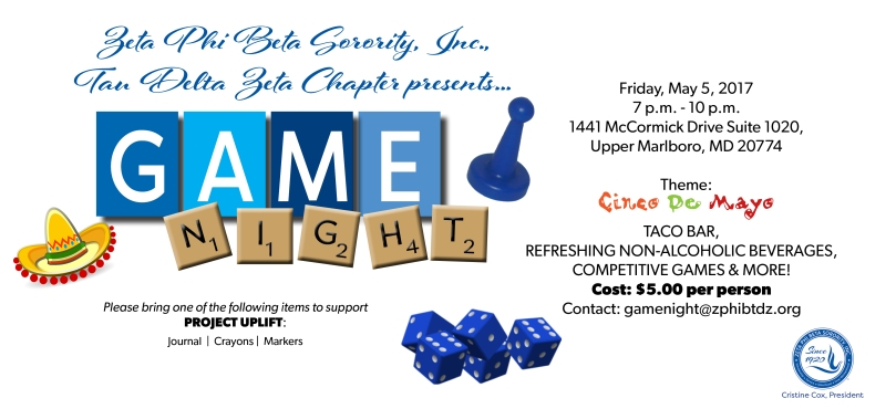 Zeta Game Night Web